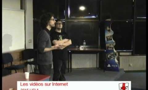 Conférence : Les vidéos sur Internet par le 3615 Usul