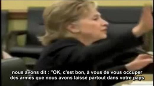 Hillary Clinton : «Nous avons crée Al-Qaïda, Nous avons financé les Moudjahidin»